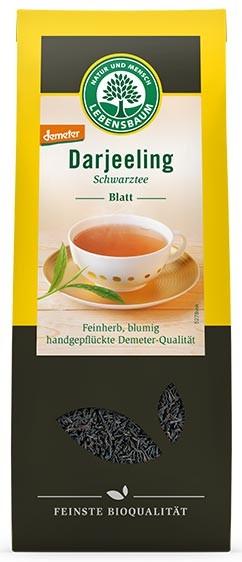 Ceai bio negru Darjeeling, 100 g LEBENSBAUM [0]