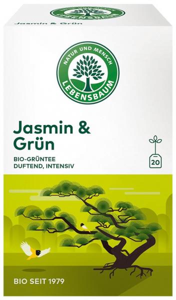 Ceai BIO verde cu iasomie, 30 g LEBENSBAUM [0]