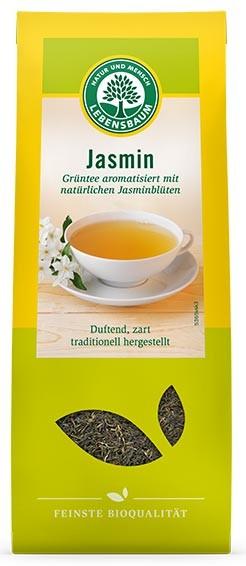 Ceai bio verde cu iasomie, 75 g LEBENSBAUM [0]