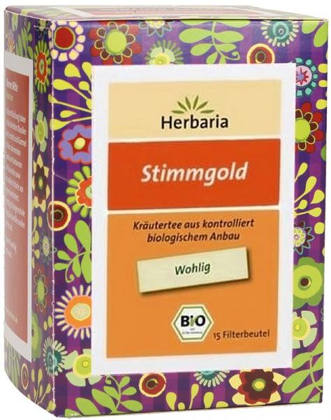 Ceai bio voce de aur, 15X1,6 G Herbaria [0]