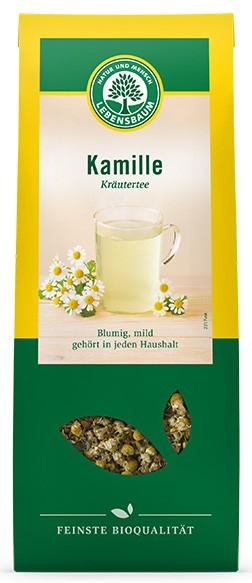 Ceai din flori de musetel BIO, 80gr LEBENSBAUM [0]