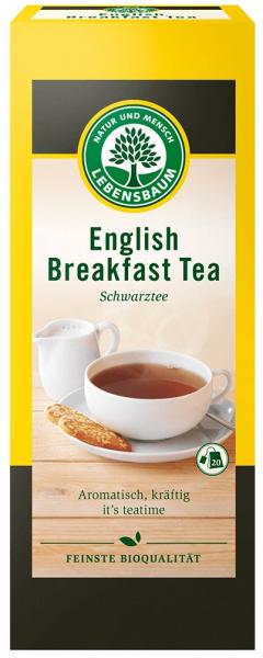 Ceai negru BIO English Breakfast, 40g  LEBENSBAUM [0]