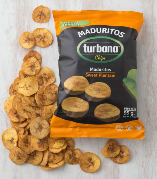 Chipsuri de plantan dulce, 95g Juan Valdez [1]