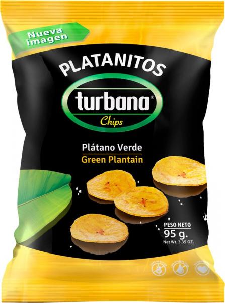 Chipsuri de plantan verde, 95g Juan Valdez [0]