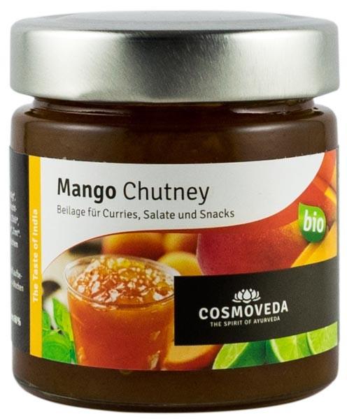 Chutney bio de mango, 225 g COSMOVEDA [0]