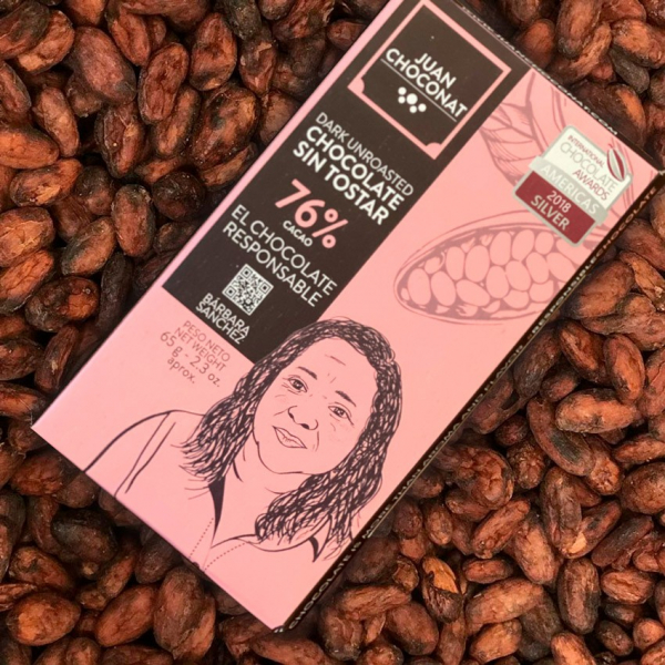 Ciocolata 76% cacao neprajita, 65g Juan Choconat [1]