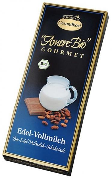 Ciocolata cu lapte, 100 g LIEBHART'S AMORE BIO [0]