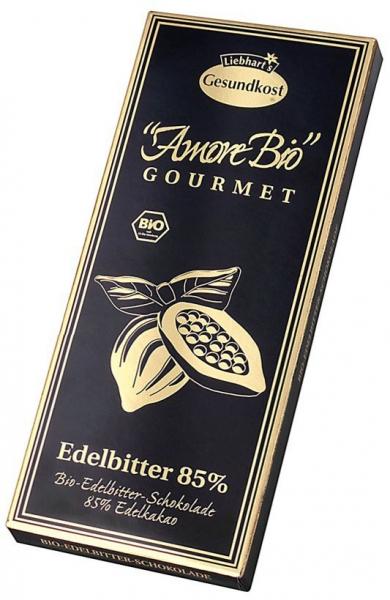 Ciocolata neagra, 85% cacao, 100 g LIEBHART'S AMORE BIO [0]