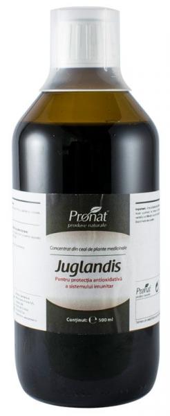 Concentrat din plante medicinale JUGLANDIS 500 ml Medicura [0]