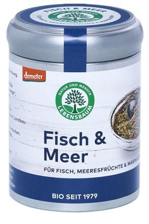 Condiment Bio Pentru Peste Si Fructe De Mare, 55 G Lebensbaum [0]