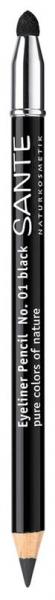 Creion contur ochi, nuanta 01 Negru, 1.1 g Sante [0]