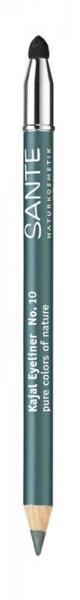 Creion contur ochi, nuanta 10 Verde Petrol, 1.1 g Sante [0]