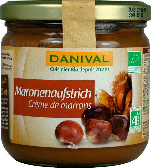 Crema Bio de castane, 380 g Danival [0]