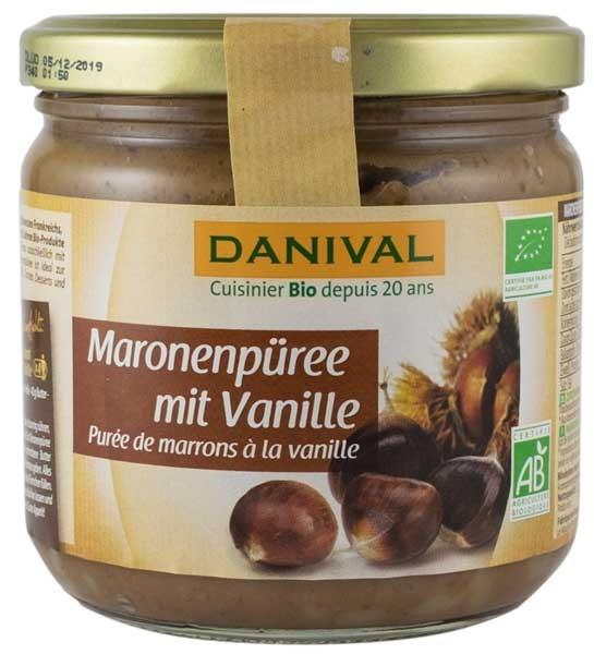 crema bio de castane cu vanilie, 380 g Danival [0]
