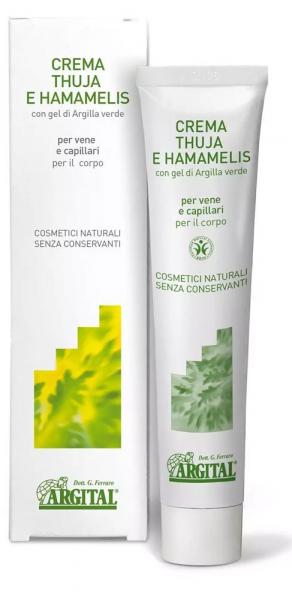 Crema BIO de Tuia si Hamamelis, 75ml Argital [0]