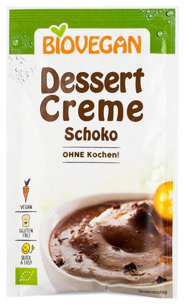 Crema Bio pentru desert cu ciocolata, 68g Biovegan [0]