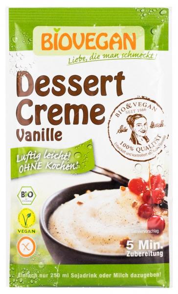 Crema Bio pentru desert cu vanilie, 52g Biovegan [0]
