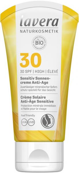 Crema Bio Sensivite Anti Ageing Cu Protectie Solara Lsf 30, 50Ml Lavera [0]