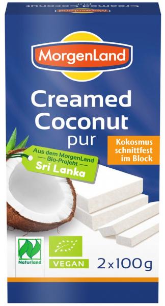 Crema de cocos BIO solida, 100% cocos, 2*100 g MORGENLAND [0]