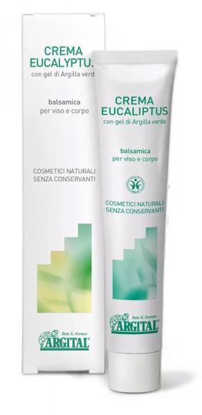 Crema de eucalipt si salvie - pentru  fata si corp, 50ml Argital [0]