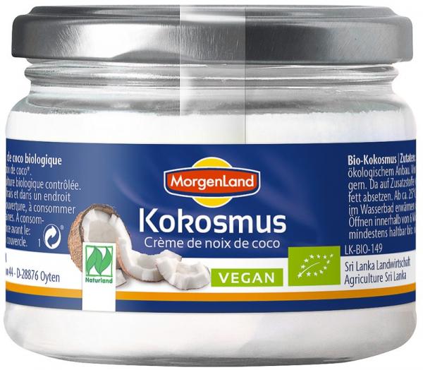 Crema de nuca de cocos, BIO, 250 g MORGENLAND [0]