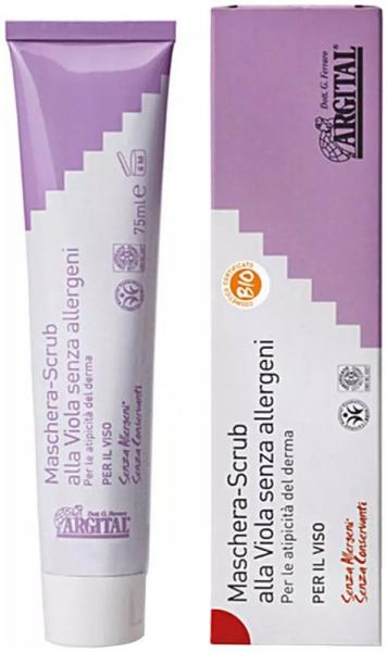 Crema exfolianta de violete non alergica, 75 ml Argital [0]