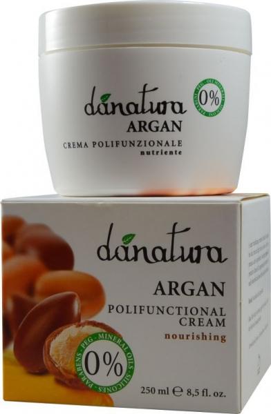 Crema polifunctionala cu ulei de argan, 250ml Danatura [0]