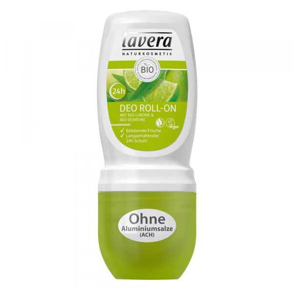 Deodorant roll-on cu lamaie si verbina, 50 ml Lavera [0]