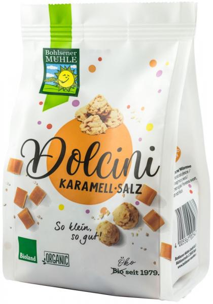 Dolcini biscuiti BIO cu caramel si sare, 125 g Bohlsener Muhle [0]