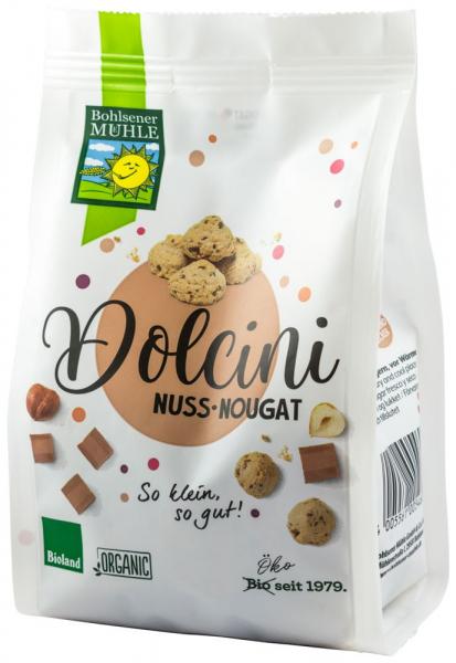 Dolcini biscuiti BIO cu nougat si alune, 125 g Bohlsener Muhle [0]