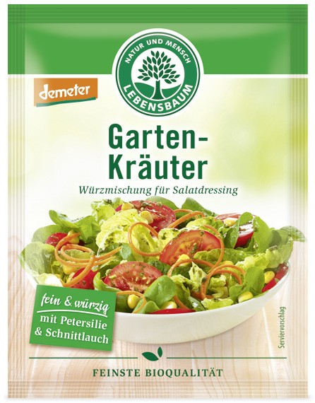 Dressing salata - Amestec de condimente BIO pentru salata, 3x5 g LEBENSBAUM [0]