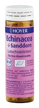 Echinaceea si catina - Tablete masticabile Bio, 60 tablete Hoyer [0]
