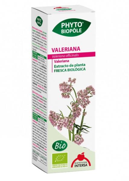 Extract BIO de valeriana, 50 ml Phyto-Biople [1]