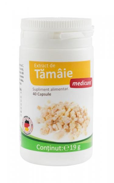Extract de Tamaie cu vitamine, 40 capsule Medicura [0]