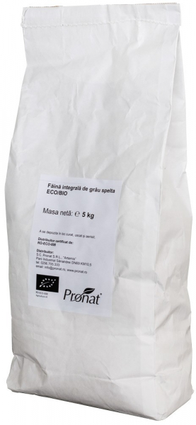 Faina integrala de Grau Spelta Bio, 5 kg [0]