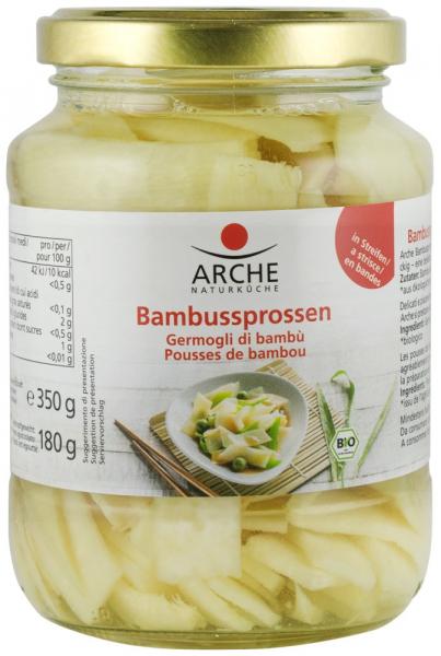 FELII DE BAMBUS BIO IN SARAMURA, 350 G ARCHE [0]