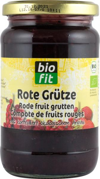 Fructe rosii - desert (compot) BIO 370g Bio Fit [0]