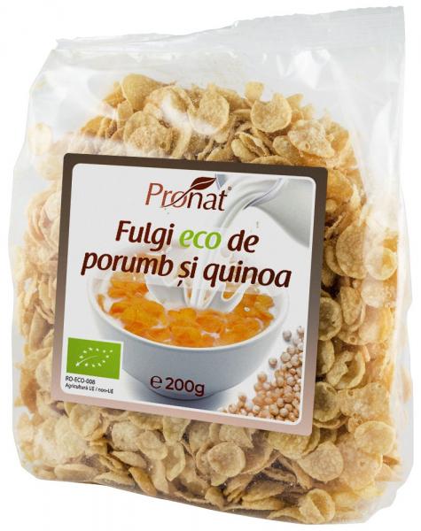 Fulgi Bio De Porumb Si Quinoa, 200G [0]