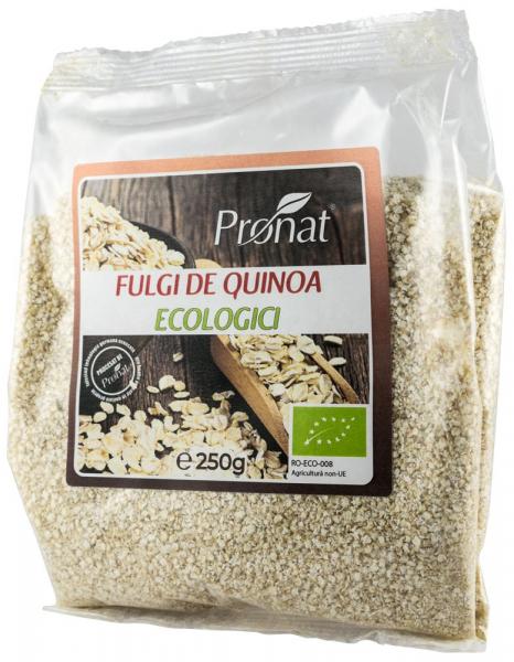 Fulgi Bio de quinoa, 250 g [0]