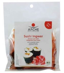 Ghimbir pentru sushi, bio, 105g Arche [0]