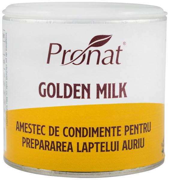 Golden Milk, Amestec De Condimente Pentru Prepararea Laptelui Auriu, 90G [0]