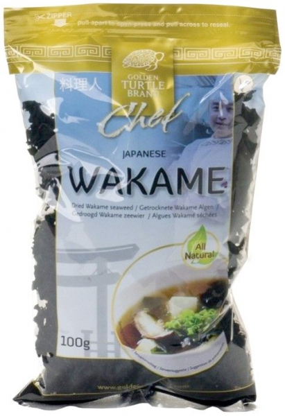 GOLDEN TURTLE - Wakame - alge uscate, 100 g [0]
