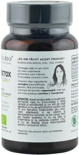 Green Detox (500 mg) supliment alimentar bio, 120 tablete (60 g) [3]
