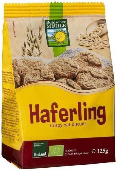 Haferling - Biscuiti Bio crocanti din ovaz, 125g Bohlsener Muhle [0]