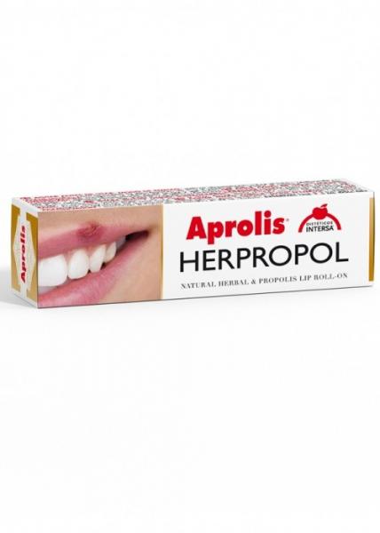 HERPROPOL Balsam de buze Roll-on cu plante si propolis, 5 ml Aprolis [0]