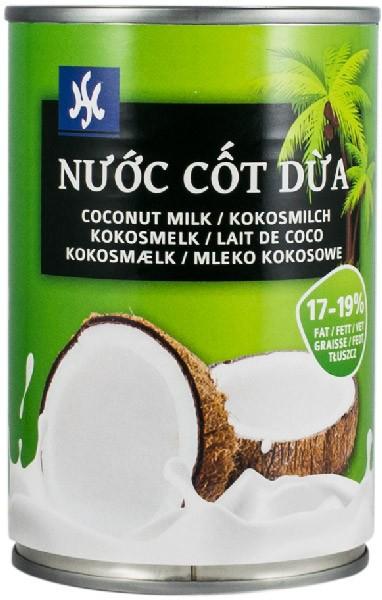 Lapte de cocos 17-19% grasime, 400ml NU`OC COT DUA [0]