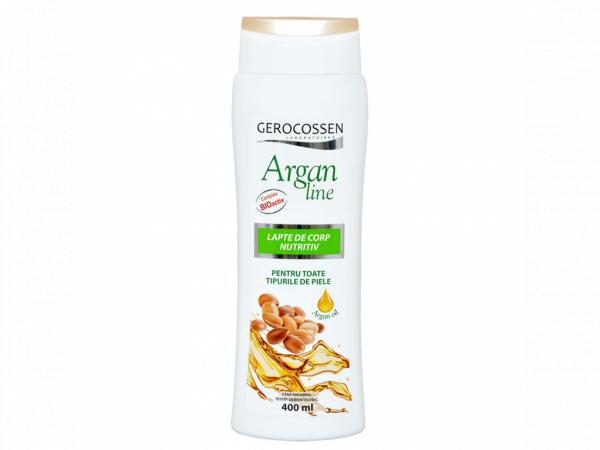 Lapte de corp nutritiv Argan Line 400 ml [0]