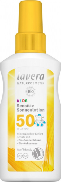 Lotiune Bio Pentru Protectie Solara Lsf 50, Pentru Copii, 100Ml Lavera [0]