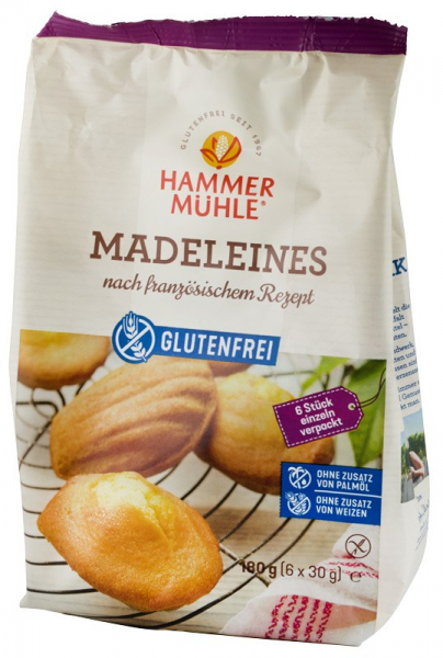 Madlene, dupa o reteta frantuzeasca, 180 g (6X30 g) HAMMER MUHLE [0]