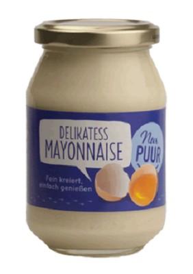 Maioneza Bio Delikatess, 250 g Nur PUUR [0]